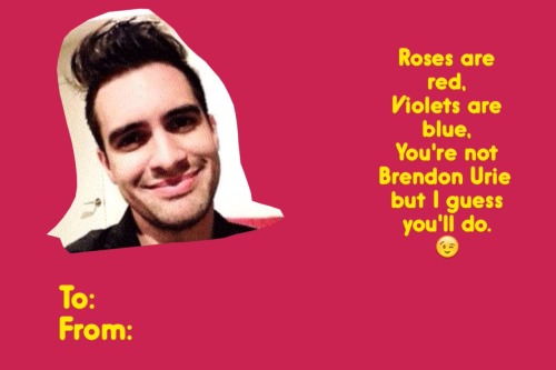 Mcr Panic At The Disco Fall Out Boy Wallpaper Band Valentines Day Cards Tumblr