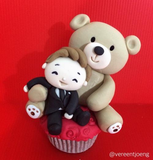 Cumbercupcake: Ben and Teddy lol