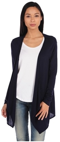 Modal/ Cashmere Waterfall Cardigan by Majestic