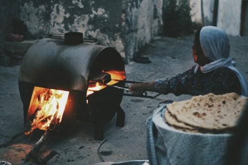 farahfilasteen:  Sebastia near Nablus, Palestine