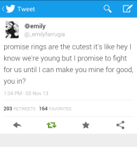 promise ring | Tumblr