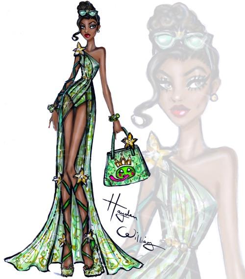 Disney Divas 'Beach Beauties' by Hayden Williams: Tiana
