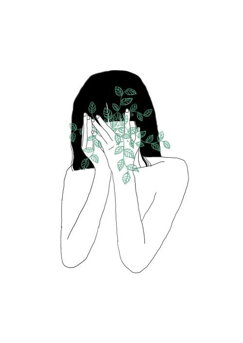 drawing illustration art girl