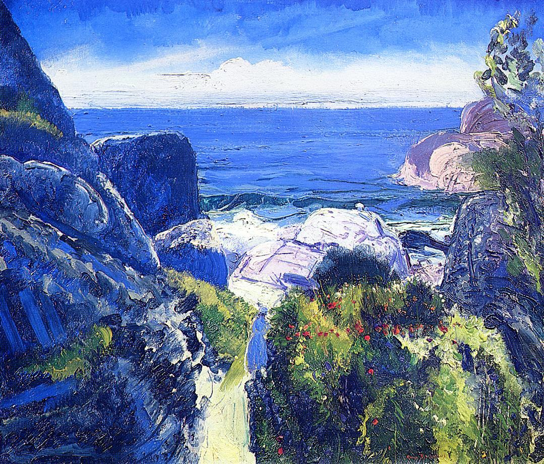 artishardgr:</p> <p>George Bellows - Paradise Point 1919