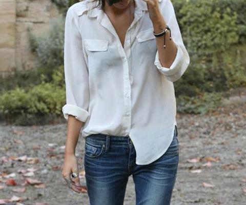 ¿Cómo combinar una camisa blanca? En #MujeParis te damos 3 ideas para usar este básico: http://www.mujerparis.cl/2013/06/el-revival-de-la-camisa-blanca/