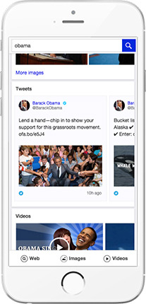 Yahoo Updates Mobile Web Search