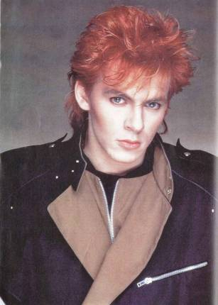Nick Rhodes in the 80s.