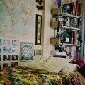 Bedrooms vintage indie posters rooms world map tumblr rooms tumblr