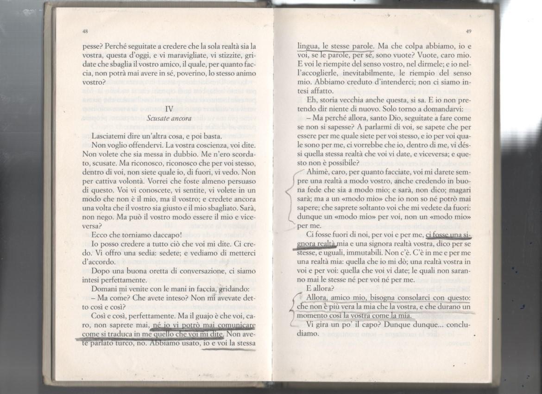 """Giuseppe Renda, brano tratto da """"Uno, nessuno e centomila"""" di Luigi Pirandello (1926)"""
