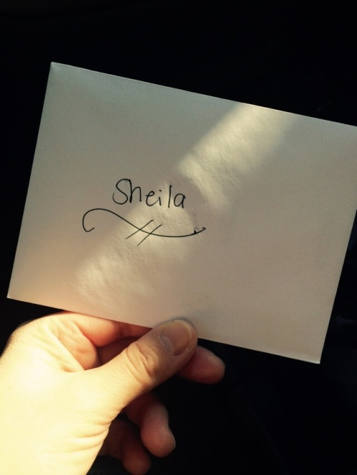 Last hair cut in CT… Had to write my stylist a goodbye letter because I'm such a sap! But if you are ever looking for a fantastic hair stylist in CT… Sheila at La Jolie Salon is totally where it's at!!!