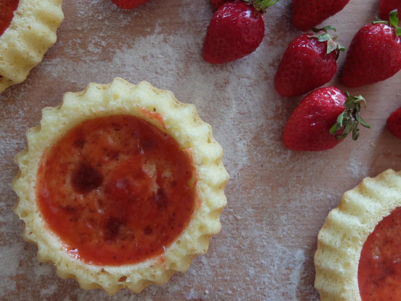 mangia minga - Erdbeertörtchen
