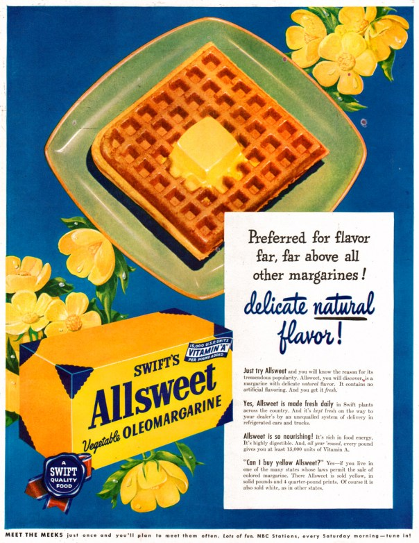 Swift's Allsweet - 1949
