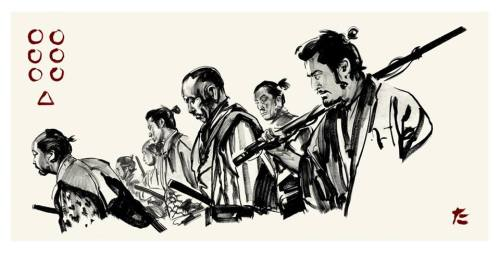 azertip: xombiedirge:Seven Samuraiby Greg Ruth