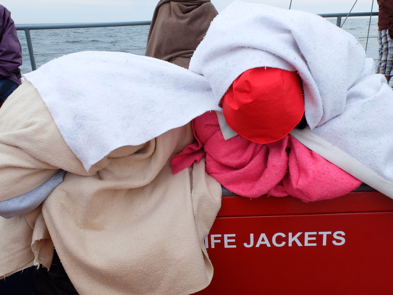 mangia minga // Travels: Grand Manan, New Brunswick. Whale watching off Grand Manan was slightly chilly.