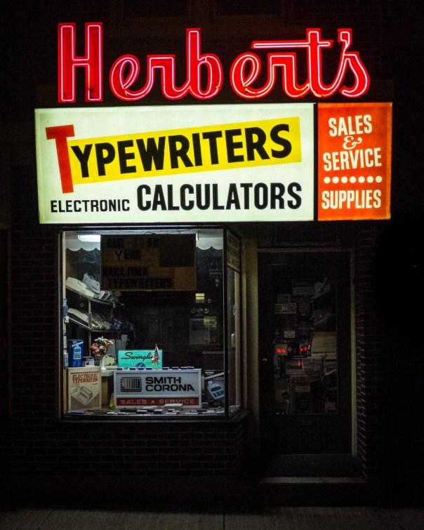 Herbert's Typewriters - 306 West Broad Street, Bethlehem, Pennsylvania U.S.A. - 2008