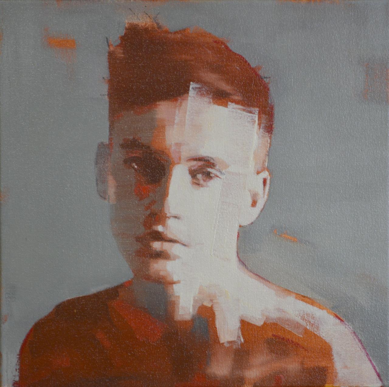 "markhorststudio:mark horst""in their eyes no. 11″ oil on canvas. 18″ x 18″"