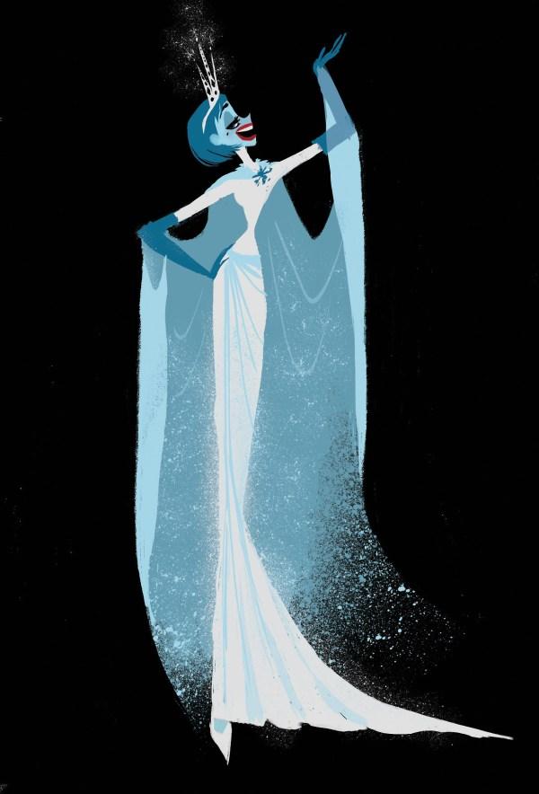Disney Concept Art Frozen Character Design Visual