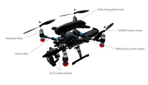 meilleur drone kickstarter