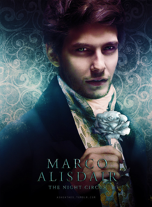 Marco Alisdair character poster. Bigger version [x]