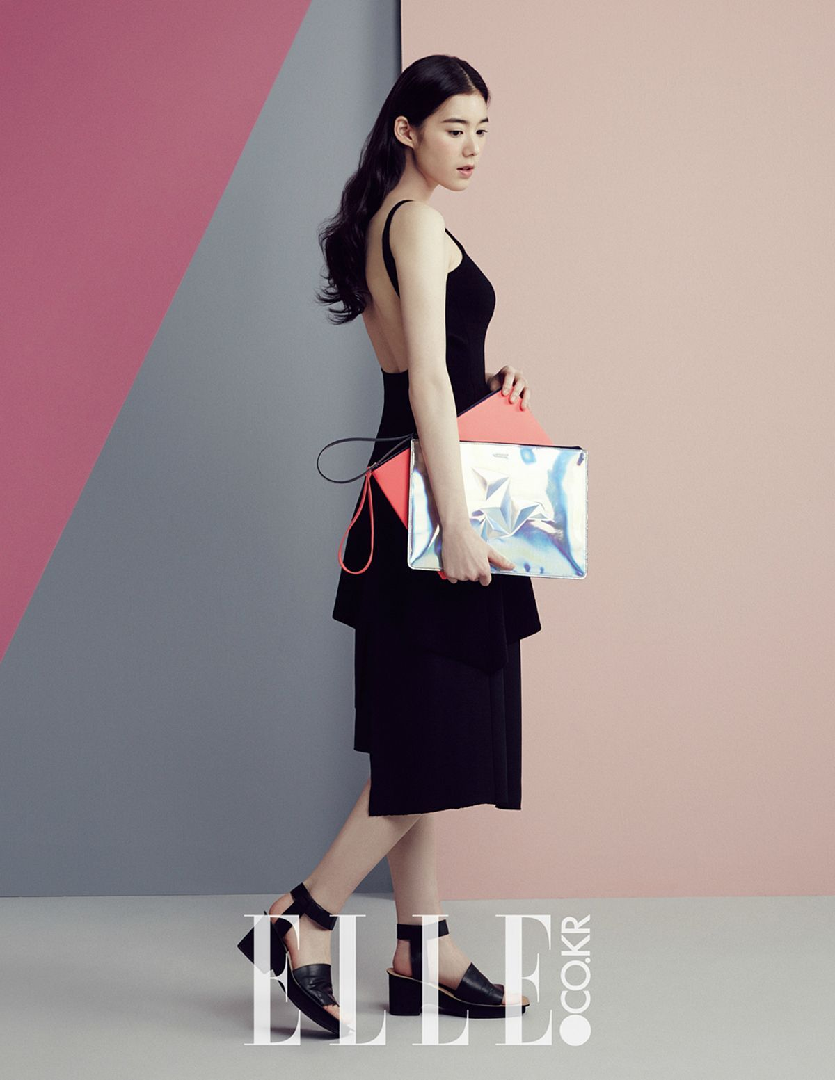 Jung Eun Chae - Elle Magazine March Issue '15