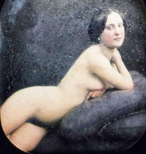 Vintage vintage nude. Beautiful.