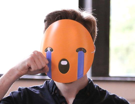 絵文字 ソーシャル プロダクト リアル emoji masks