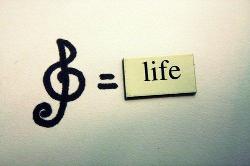 Resultado de imagen para musica es vida tumblr