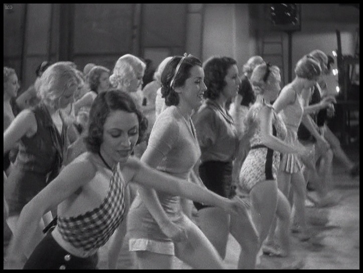 Chorus girls of 42nd Street