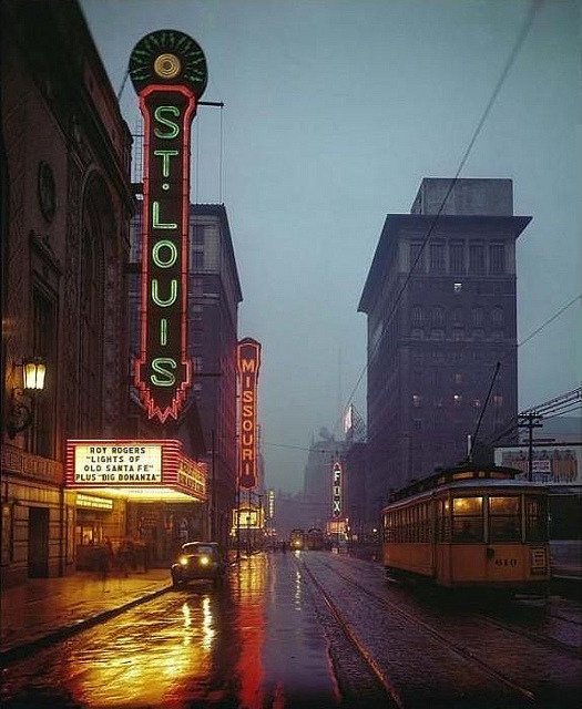 Grand Avenue - Saint Louis, Missouri U.S.A. - 1944