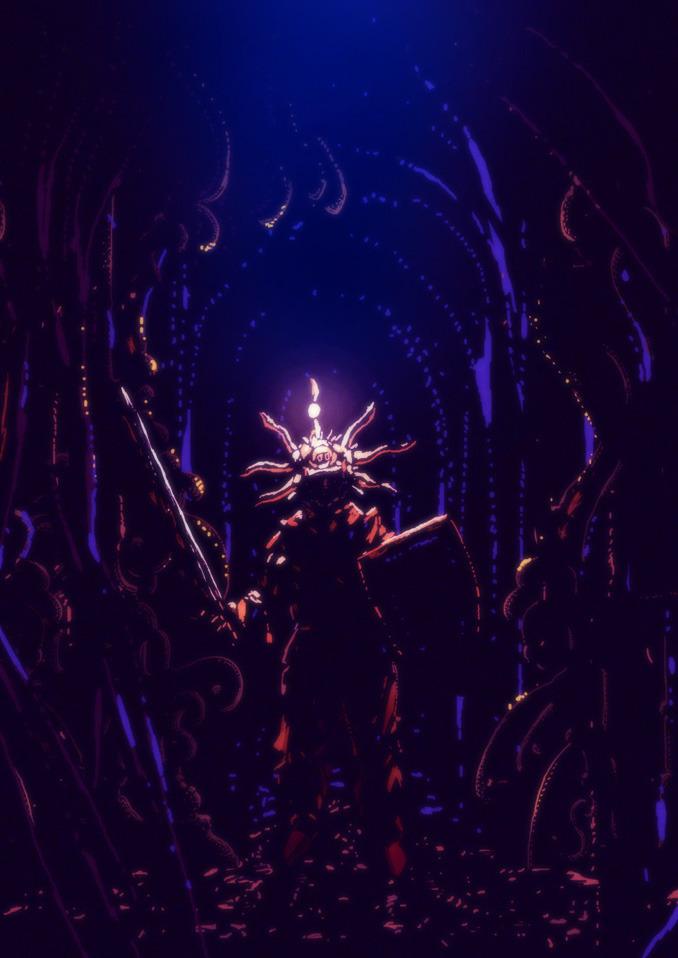 Dark Souls fan/tribute illustration by Kilian Eng