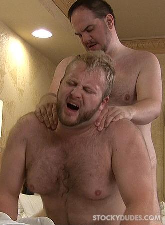 nude stocky men