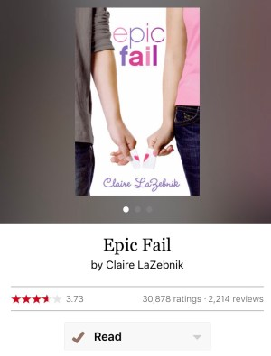Rereading: Epic Fail