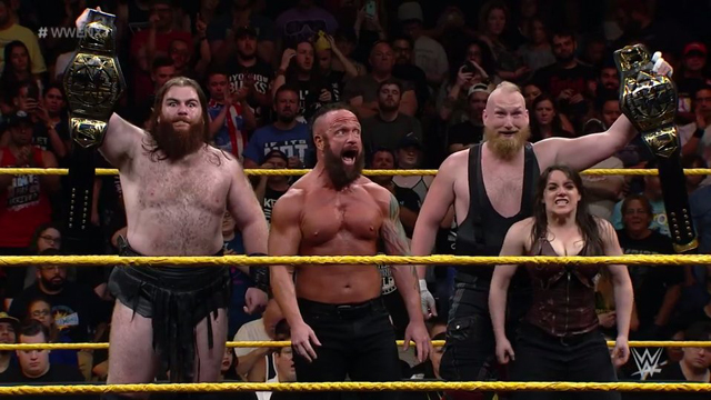 WWE NXT Superstars Sanity (Dane, Young, Wolfe, and Cross)