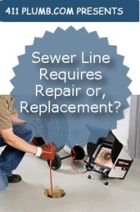 Sewer Line Requires Repair or, Replacement?