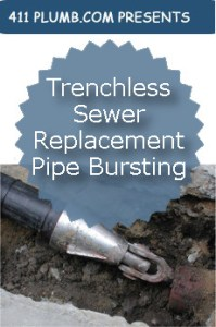 Trenchless Sewer Replacement Pipe Bursting