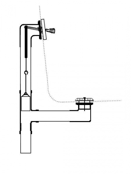 Superior Grid Type Bathtub Drain