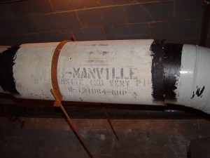 Transite Pipe was made with Asbestos