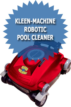 Kleen-Machine PTKM100 Robotic Pool Cleaner