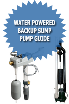 Water Powered Backup Sump Pump Guide