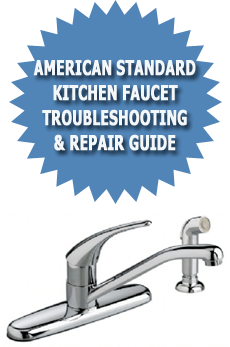 single handle kitchen faucet repair remodel ideas american standard troubleshooting & ...