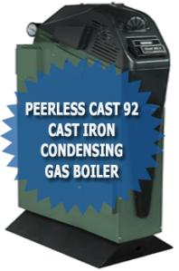 Peerless Cast 92 Cast Iron Condensing Gas Boiler