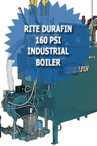 Rite Durafin 160 PSI Industrial Boiler