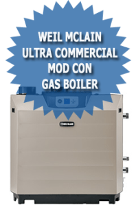 Weil McLain Ultra Commercial Mod Con Gas Boiler