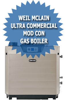 Weil McLain Ultra Commercial Mod Con Gas Boiler