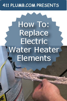 How To Replace Electric Water Heater Elements
