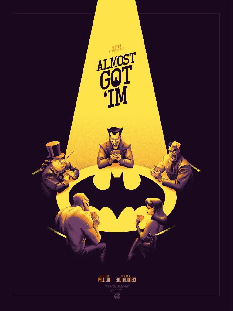 The Joker Animated Wallpaper Batman The Animated Series By Phantom City Creative