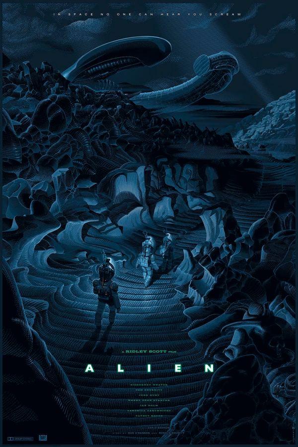 Alien Posters Bottleneck 411posters