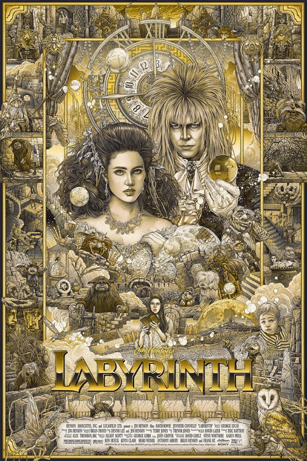 Labyrinth Movie Art