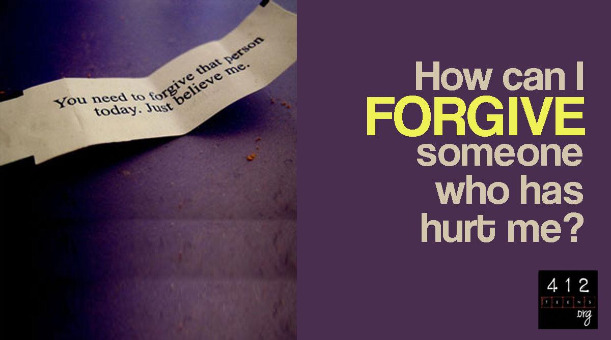 How can I forgive those who sin against me  412teensorg