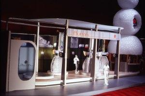 Handmade model for booth